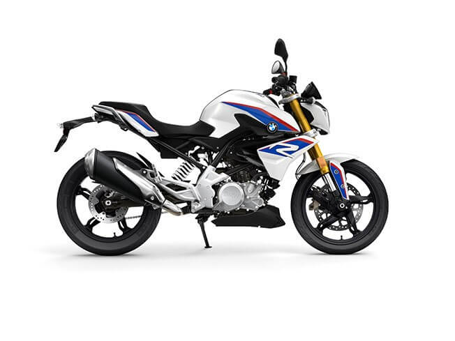 BMW G 310 R Pearl White Metallic